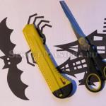 Инструменты для изготовления поделки Хэллоуин