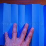 Складываем лист бумаги в  гармошку