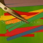 Материал и интструмент для поделки гирлянда
