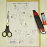 Заготовка календаря