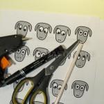 Материалы и инструмент для поделки барашек