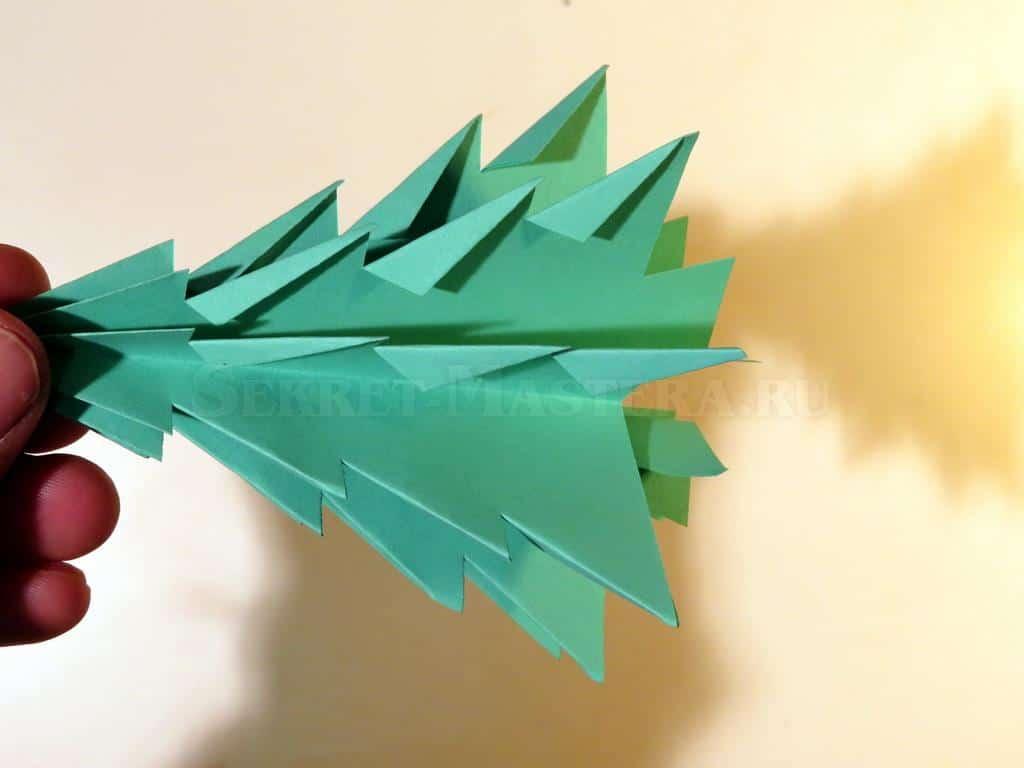 Новогодняя звезда из бумаги своими руками схема
