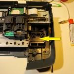 Лоток мойки головок принтера HP 2573