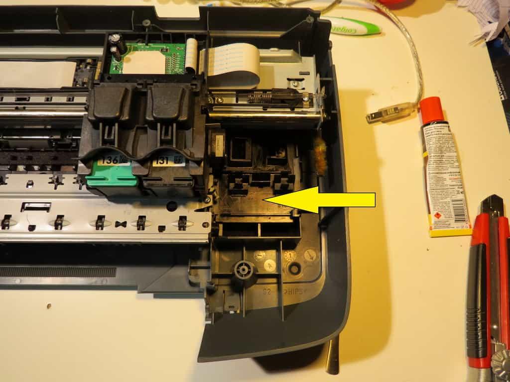 Мойка головок принтера HP 2573