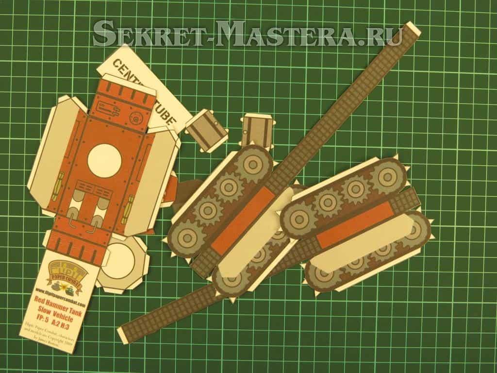 модели танков из дерева своими руками инструкция