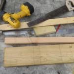 Материалы и инструмент. Кормушка для птиц