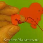 Завязываем узел на валентинке