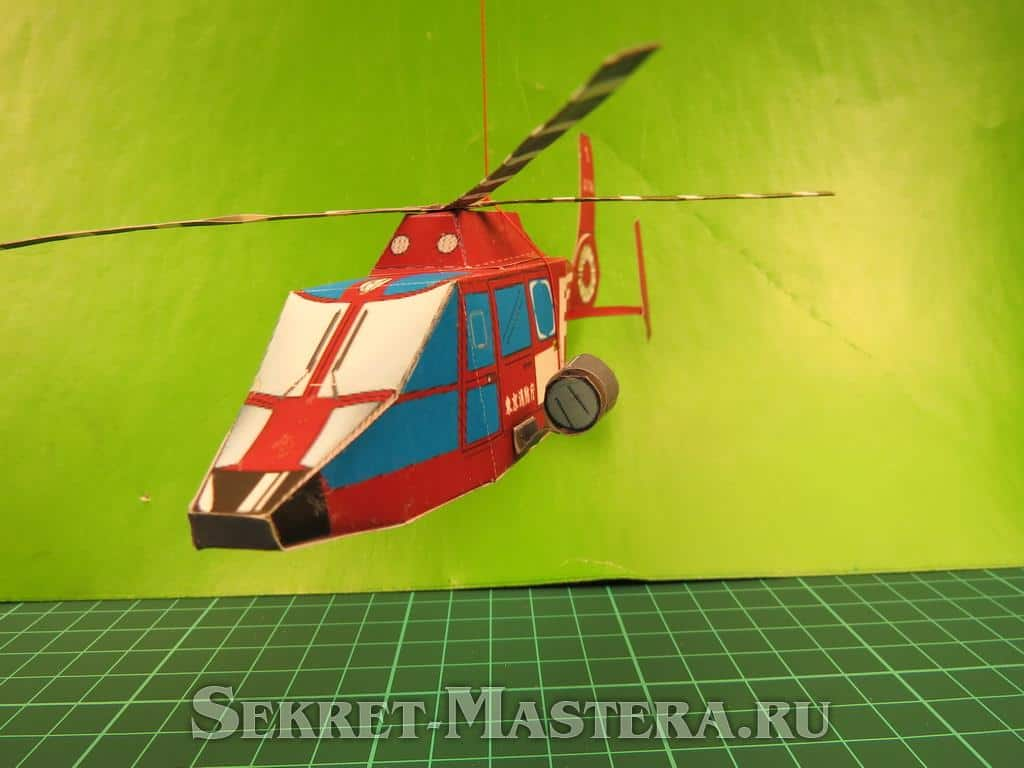 Лопасти вертолета своими руками
