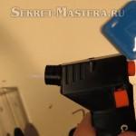 Зажигалка для разогрева пластмассы