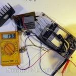 Проверка макета лабораторного блока питания