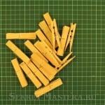 Бамбуковые прищепки. Светодиодный светильник