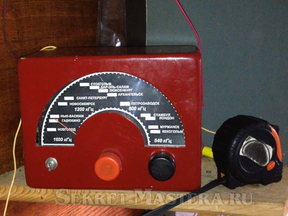 Как сделать корпус радиоприемника 25