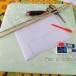 Заготовки, инструменты, материалы планера