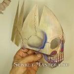 Сборка второй стороны черепа