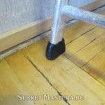 Ножка лестницы из полиморфуса