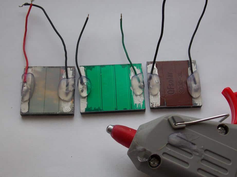 Солнечная батарея для фонарика своими руками