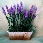 Цветы из бисера: лаванда в стиле прованс