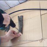 Крючок из дерева