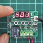Коррекция показаний температуря термостатом WD1209
