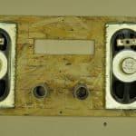 Установка динамиков на лицевой панели Bluetooth центра