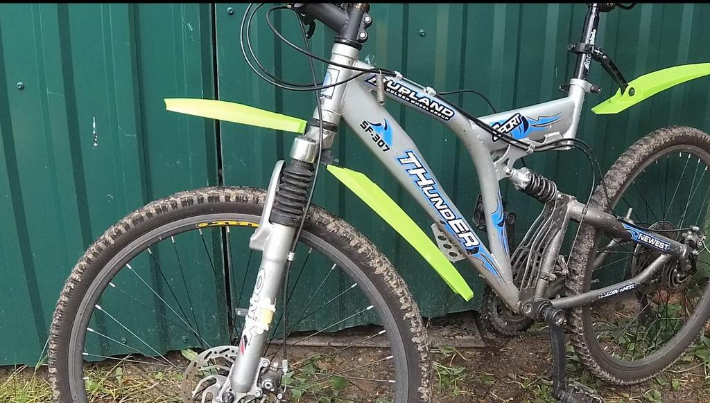 Крылья для горного велосипеда своими руками 93