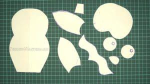 Сова 3D пазл