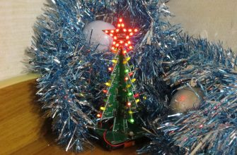 3D елка со звездой