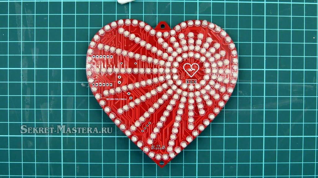 LED сердце