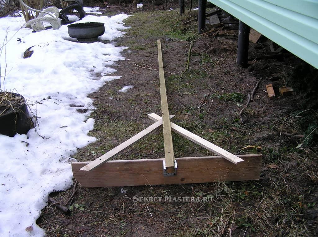 Сделать лопату для уборки снега своими руками фото 38