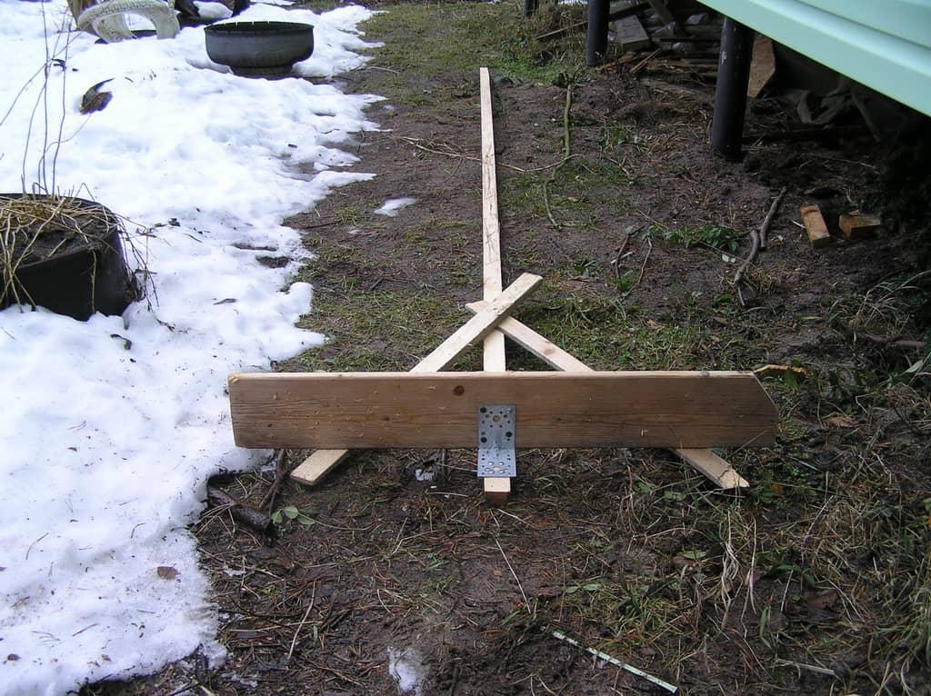 Самодельная лопата для снега