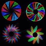 Спинер на RGB светодиодах