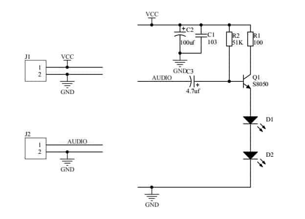 Схема ИК передатчика